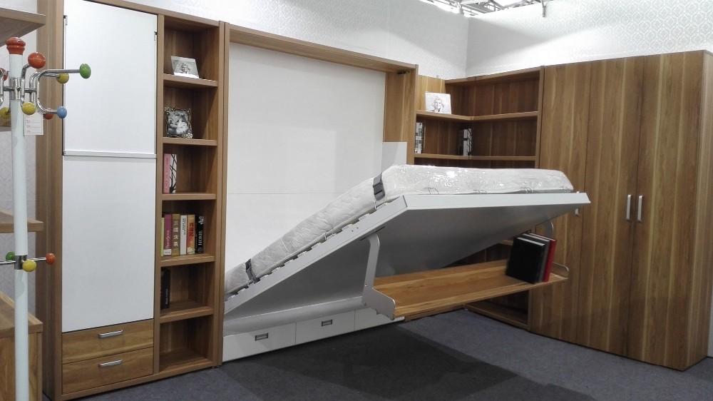 Elegant Murphy Bed Hidden Bookcase