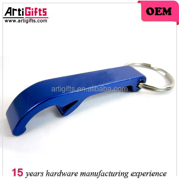 Aluminum cheap keychain bottle opener parts