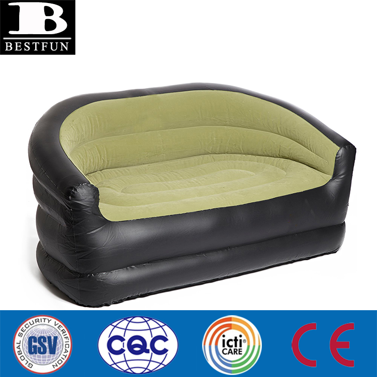 Tough Flocked Pvc Air Filled Inflatable