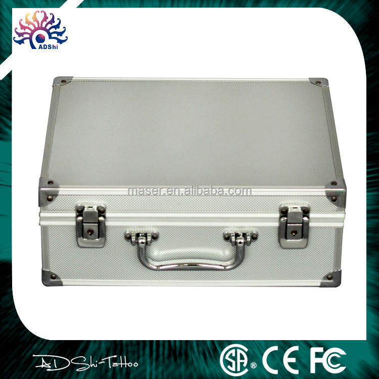 Aluminum case makeup kit for tattoo tools