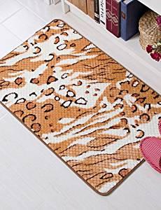 """LBLI Casual Style Coral Velvet Material Non-Slip Mat W16"""" x L24"""" , w16"""" x l24"""" DT-DZ #1089"""