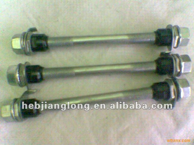 BICYCLE FRONT OR HUB SPINDLES
