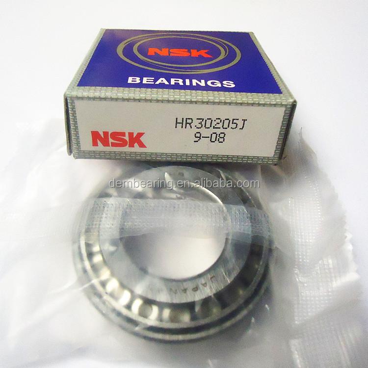 2X NSK HR Series 30205J Tapered Roller Bearing Set Bearing /& Race NOS