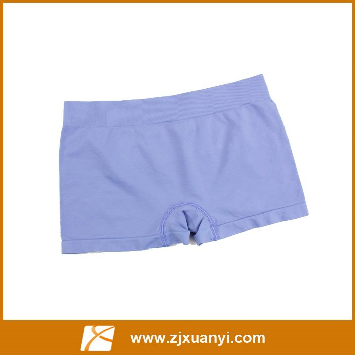 simple packing women cheaper panties with 5 colors and 3 sizes