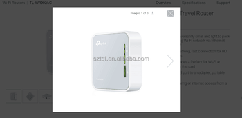 AC750 Wireless Travel Router TL-WR902AC, View Wireless Router, tp link  Product Details from Shenzhen Tengqingfeng Technology Co , Ltd  on  Alibaba com