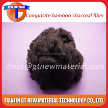 Staple Fiber, fibre virgin, composite bamboo charcoal fiber
