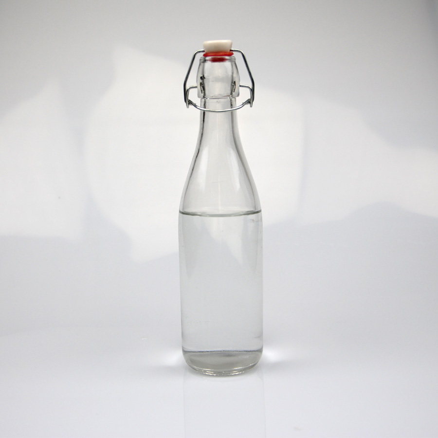 Clear High Transparent 250ml 330ml 500ml 1000ml 1 Litre Swing Top Locking  Lid Beer Bottle - Buy 5cl Beer Bottle,11 2oz Beer Bottle,7 Oz Beer Bottles