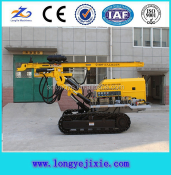 G140YF High Air Pressure DTH Drilling Rig For Mining, Anchor Drilling