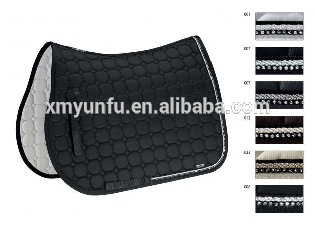 Custom Soft Horse Sport Equestrian Saddle Pads