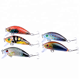 Fishing Lures Crankbaits Hook New Lot 3D Eye 5 types Minnow Baits Tackle Crank fishing lure