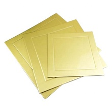 Gold /Silver card Paper Round/Square Cardboard Cake Base Boards For mousse