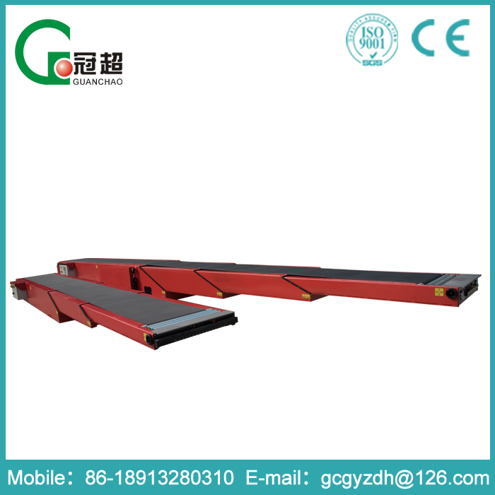 GUANCHAO-Large machinery factory durable in use portable belt conveyor