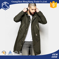 Suppliers Factory Custom Plain Hoody Extra Long Fashion Leather Jacket Fish