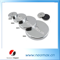 Round Base Ferrite Pot Magnet