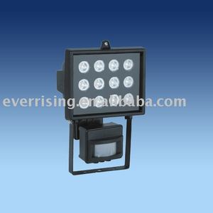 LED work lamp with sensor