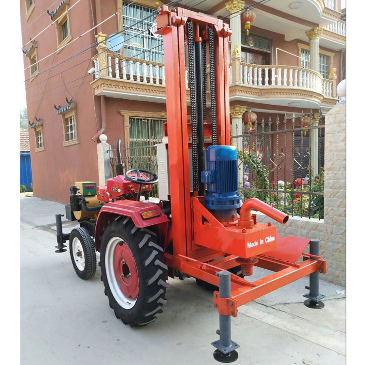 380V Truck Mounted Borehole Drilling Rig