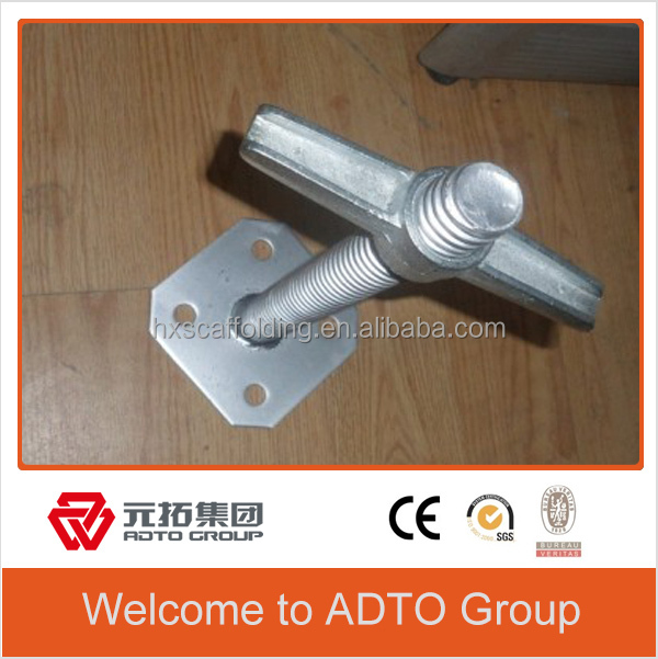 shoring prop/scaffolding shoring props parts/painted galvanized adjustable jack post shoring props