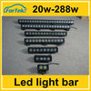 Wholesale led light bar offroad !10-30v dc 6-52inch high intensity 36w-300w IP 67 china