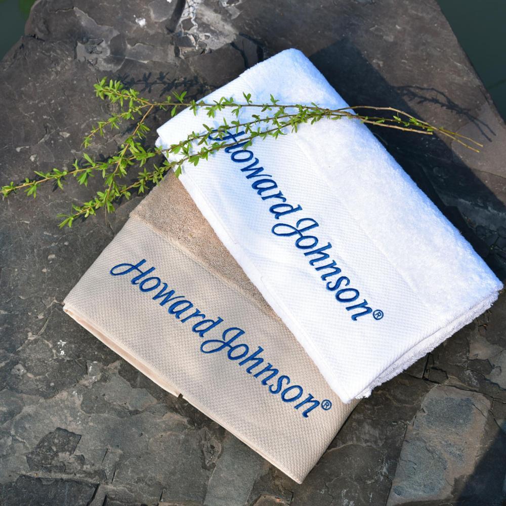 hotel plain weave towel for beauty