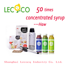 Hot sale 50 times HIGH concentrated syrup sugar syrup for smoothies