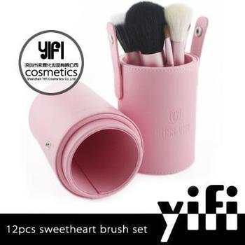 Shenzhen Miss Yifi 12pcs Go Pro Private Label Makeup Brush