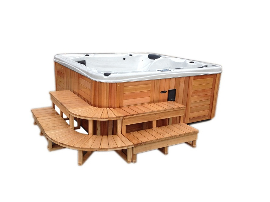 Swimming Spa,square hydro massage hot spa tub whirlpools bathroom tub with water massage