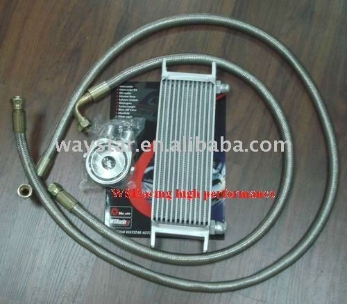 Relocate diesel engine oil cooler with high level quality with adaptor