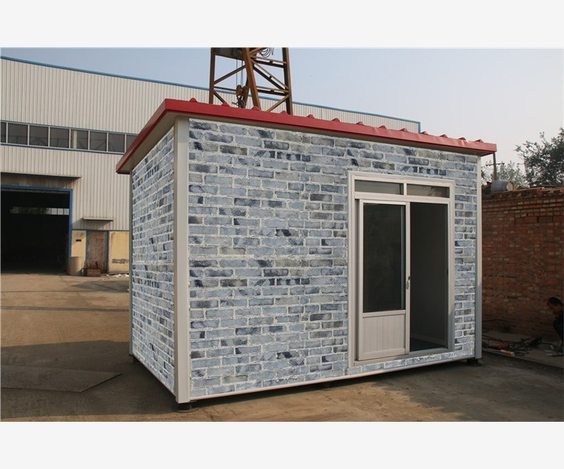 Neopor Movable Food Kiosk steel prefab house container sales