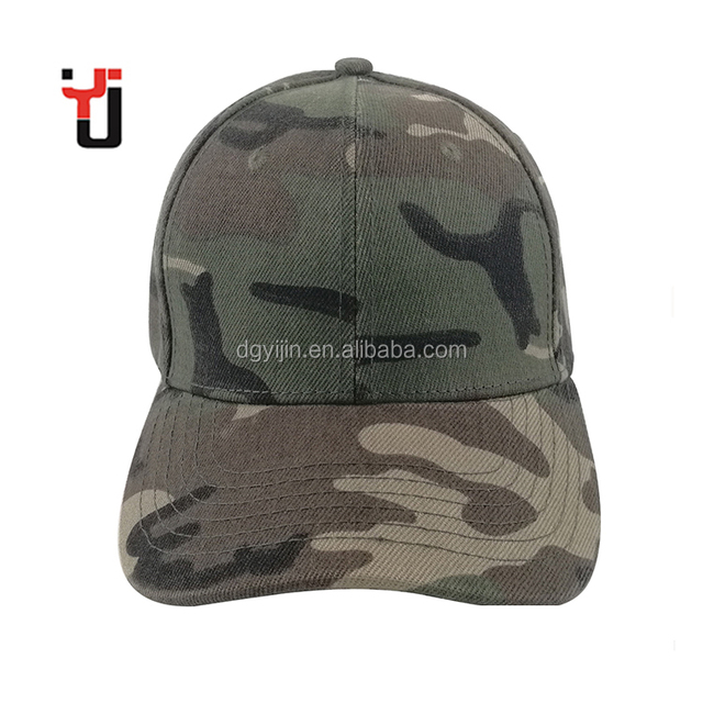 3442d71e18a Hunting Casual Military Camo Printed Mental Cotton Baseball Cap