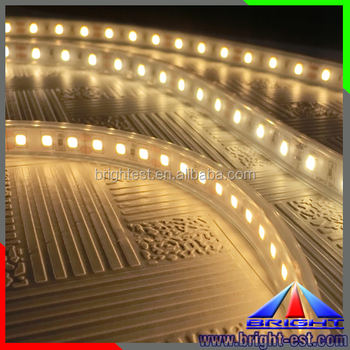 Silicon Led Strip Waterproof Warm White 2600k Ribbon Light 24v Dc Product On