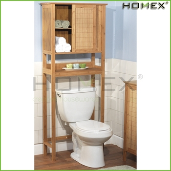 Bambus Über Die Wc Regal Bad Schrank W Tür Homex-bsci Fabrik - Buy Bambus  Schrank,Bad Schrank,Bad Eitelkeit Product on Alibaba.com