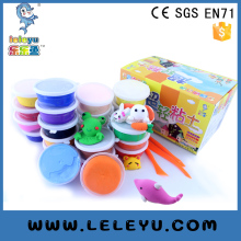 Educational play dough lightweight foam non-toxic clay