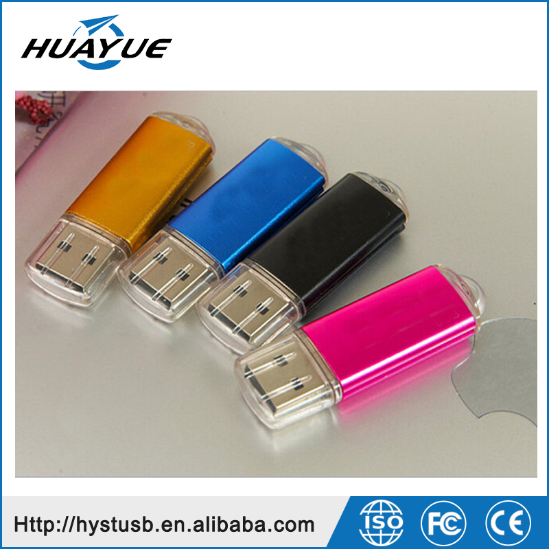 Factory Price USB 2.0 16gb 32gb 64gb 128gb Metal Case USB Flash Disk for Gift Promotion
