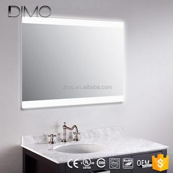 Luce Specchio Bagno Led.Ul Del Ce Della Parete Fluorescente Retroilluminato A Led Specchio