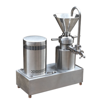 jm-80 bitumen almond milk price peanut butter colloid mill machine  for mayonnaise