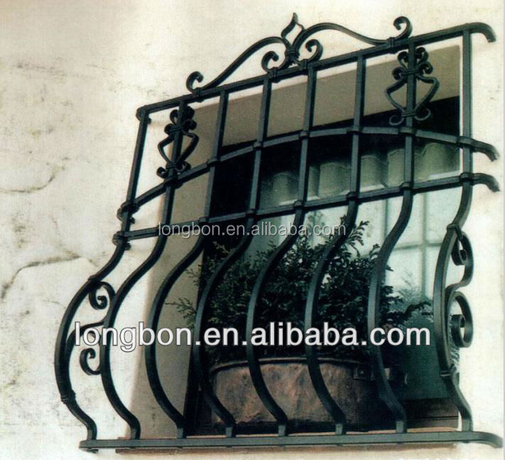 Top-selling design window iron grills