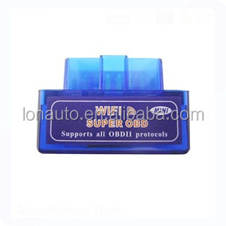 Super Wifi Mini ELM327 scanner v1.5 Wifi elm327 OBD2 Car auto diagnostic scanner vehicle tool