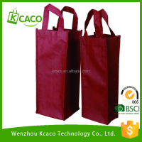 Fashion non woven wine bag/2non-woven wine bottle tote bag/Non-woven Bags for packing Wine