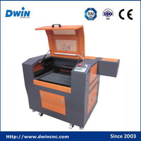 factory supply 3d mini co2 laser rubber stamp and glass engraving machine price 500*300mm working area