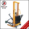 Electric lifting 500kg Semi-Electric Oil Drum Lifter for Material Handling Equipment