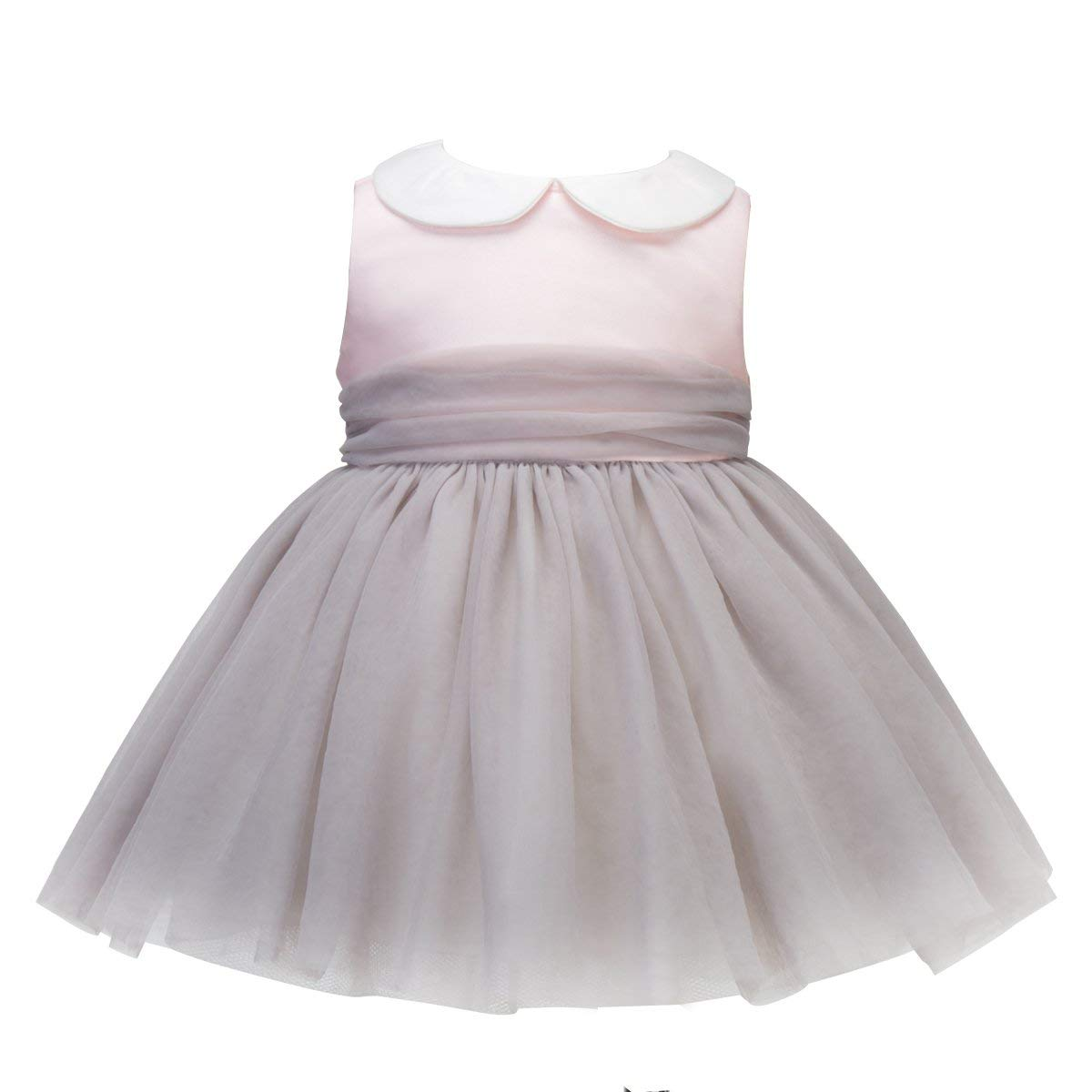 df4fec1c849b Get Quotations · Lace Flower Girl Dress Peach Baby Dress Tulle Baby Dresses  Baby Floral Dresses 3 6 Months