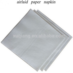 friendly and healthy airlaid paper 100% woodpulp vicell paper