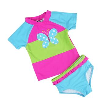 b6854542e6c5d 2018 Best Selling Two Piece Set Baby Swim Suit Children Swimwear ...