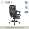 Judor High Back Swivel Chair Ergonomic Luxury Leather Office Chair with Footrest