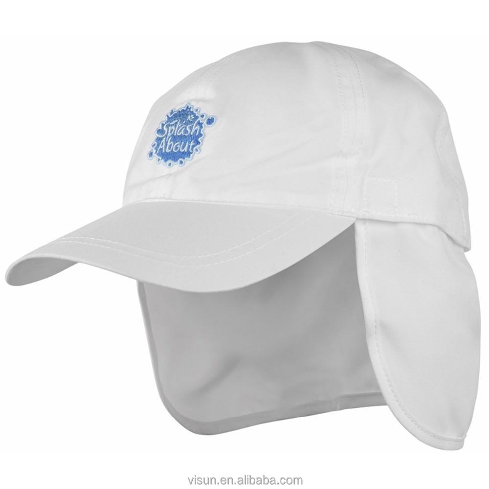 fbf710c454940 Kids UPF 50+ UV Ray Sun Protection Baby Hat with Neck Flap & Drawstring
