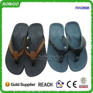 2016 mens quality spongs flip flops slippers, thick sole flip flops,slippers making machine