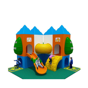 Eco-Friendly Kids Plastic Indoor Playground,Colorful Plastic Playground Indoor