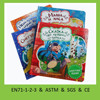 Animal touch and feel board book for children toy vivid fur book