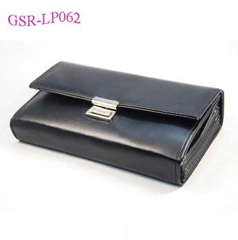 cbc690364 De cuero de imitación de la moda de los hombres bolso de gran capacidad  cartera,