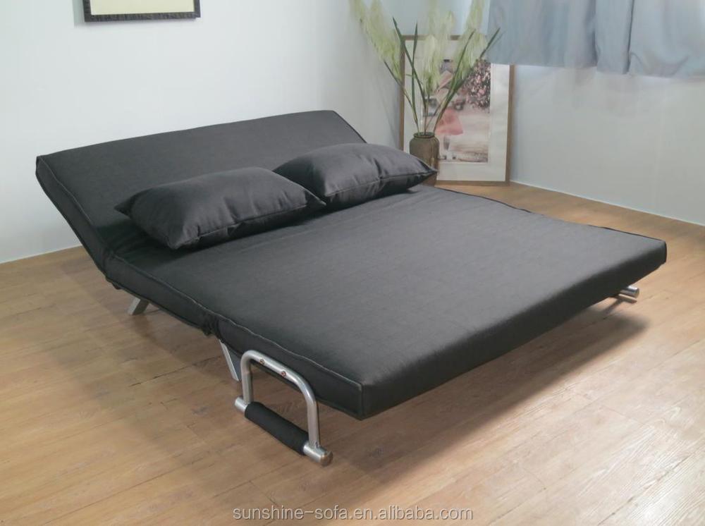 moderne salon structure en acier pas cher tissu canap lit pliant canap futon lit chine. Black Bedroom Furniture Sets. Home Design Ideas